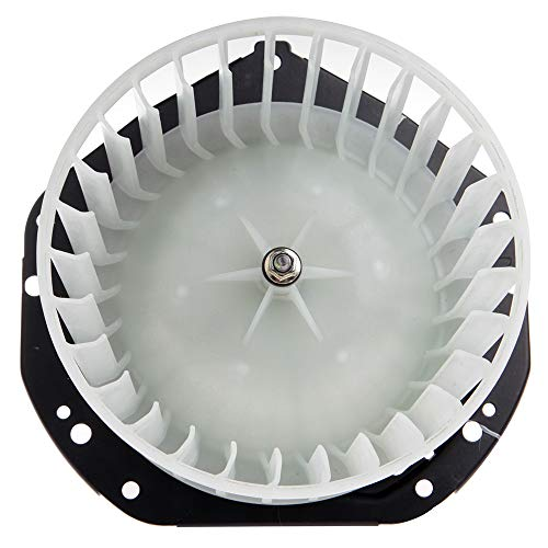 TUPARTS AC Conditioning Heater Blower Motor with Fan HVAC Motors Fit for 1994-2004 Chevrolet S10, 1991-2004 GMC Sonoma, 1996-2000 Isuzu Hombre