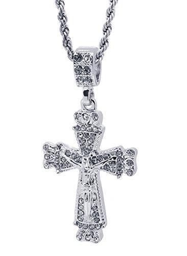 Tone Medieval Crucifix Pendant Free 24