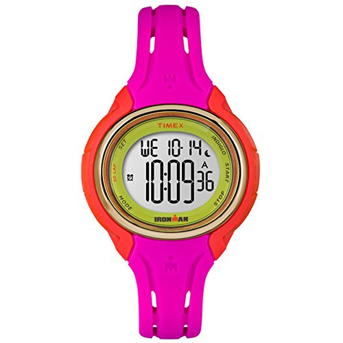 Timex Ironman Sleek 50 Mid-Size Watch - Pink Color Block by Timex