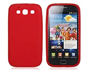 Silicone Protective Case for Samsung Galaxy S3 I9300 (Red)