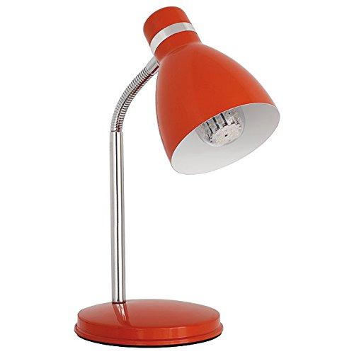 Kanlux lámpara de mesa E14 roja Zara hr-40-or: Amazon.es ...