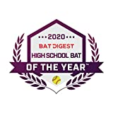 EASTON GHOST -10 Fastpitch Softball Bat | 34 inch / 24 oz | 2020 | Double Barrel | 2 Piece Composite | ConneXion+ Nitrocell Foam | XTX Matrix Technology | Hyperskin Grip | Approved All Fields