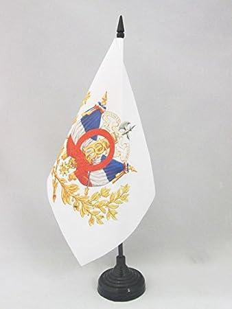BANDERINA de DESPACHO FRANCESA 14 x 21 cm BANDERA de MESA de FRANCIA 21x14cm