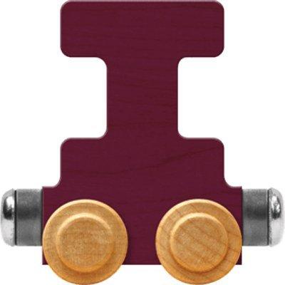 - NameTrain Bright Letter Car I - Made in USA (Purple)