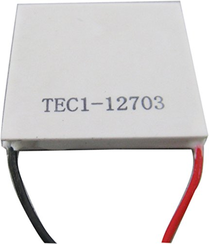 Yeeco High Power TEC Thermoelectric Cooler Generator Cooling Peltier Plate Module Thermostat Cooling Controller DC 12V 40mm40mm by Yeeco (Image #2)