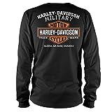 Harley-Davidson Military - Men's Black Long-Sleeve