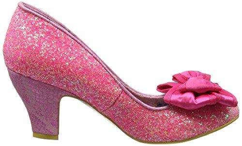 Irregular Choice Ban Joe Scarpe con Tacco da Donna Pink (Pink Glo)
