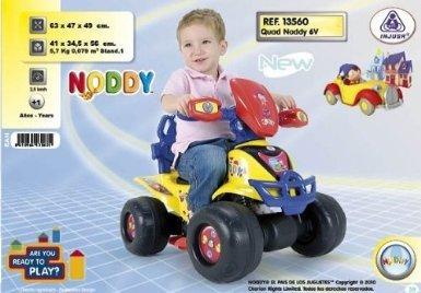 INJUSA Noddy Quad 6v: Amazon.es: Juguetes y juegos