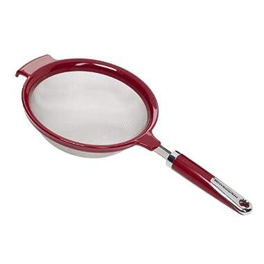 KitchenAid Strainer (Red, 7-Inch)