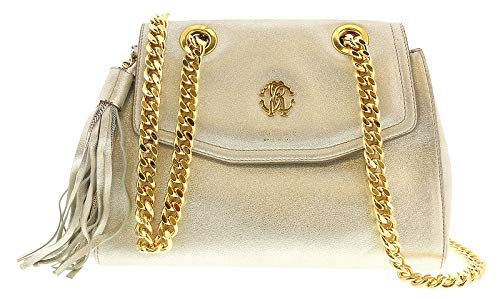 Roberto for foil 2806 Cavalli Crossbody Gold FWB946 Bag Womens PC268 Soft PrPxAq6