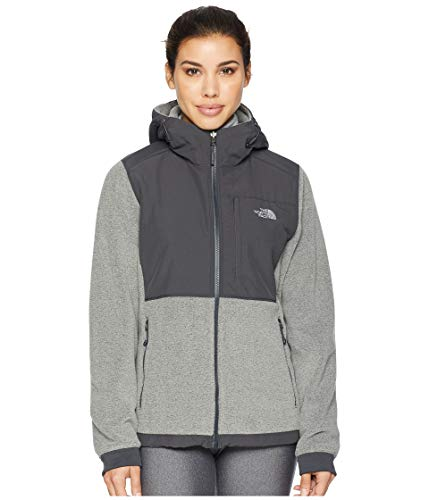 The North Face Womens Denali 2 Hoodie NF0A3SX1HAT_S - TNF Medium Grey (North Face Womens Indi Fleece Hoodie Jacket)