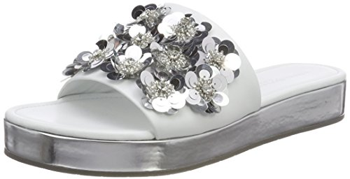 Women's und Crystal Platform 327 Neo Schmenger White Kennel Sandals Bianco Tx1RnZdwq