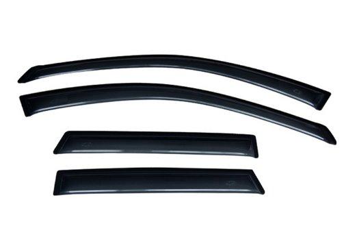 (Auto Ventshade 94921 Original Ventvisor Side Window Deflector Dark Smoke, 4-Piece Set for 2003-2007 Nissan Murano)