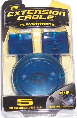 Hip Interactive Extension Cable & Spool for PS2