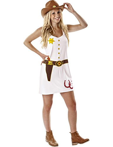 Women's Cowgirl Halloween (Wild West Sheriff Cowgirl Costume)