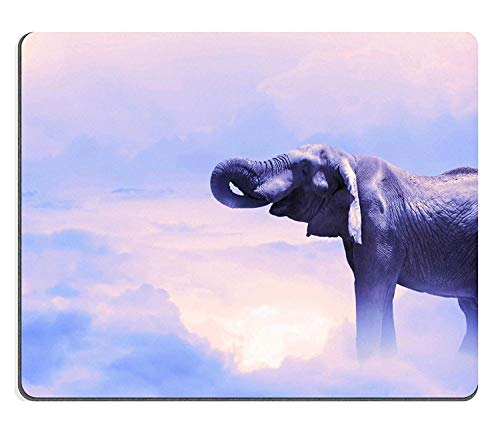 Cute Mouse Pads Vintage African Elephant Beautiful Floral Art Mat Gaming Mouse pad Mouse mat PM0743 (Tosh O Best Videos)