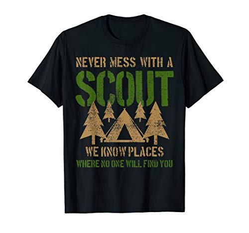 Scout Camp Camping Tent Funny Saying Joke Leader Gift T-Shirt (Boy Scout Camp)