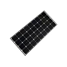 ALEKO 100W 24V 100-Watt Monocrystalline Solar Panel