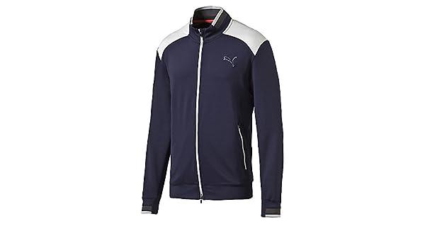 Puma Golf 2017 Mens Track PW Jacket, Peacoat, Medium: Amazon.es ...