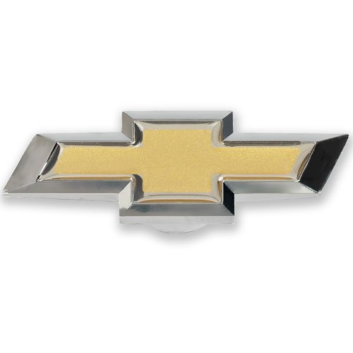 Pro Form 141-336 Large Chevy Bowtie Air Cleaner Nut, Chrome/Gold, 1 Pack