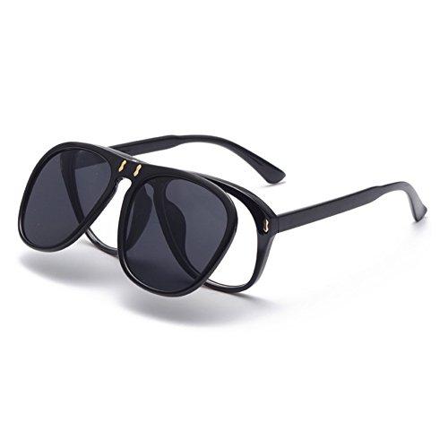 big gafafs 2018 adorno novedad gafas de tipo de gafas de upturning regalo moda fiesta nuevo con calle de gafas frame de gafas moda de de sol Red de Frame Ocean gafas Red cumpleaños de de diseño tpq0pw6r