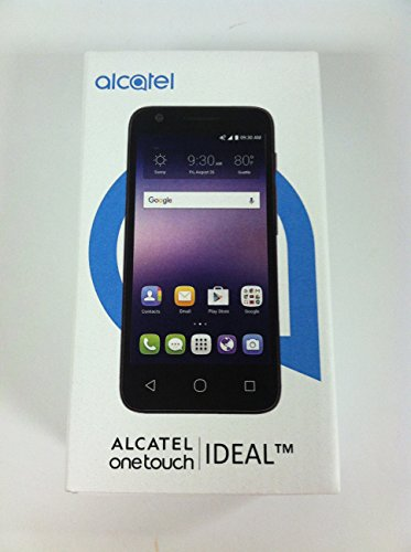 Alcatel Ideal 4060A 4G LTE w/ 8GB Memory FACTORY UNLOCKED Cell Phone Smartphone By KRONU LLC by Alcatel