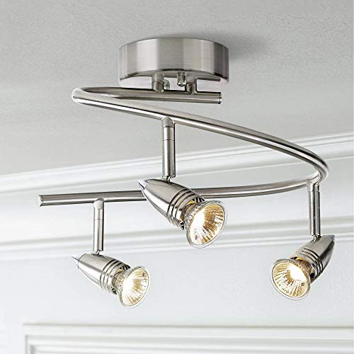Pro Track 3-Light Spiral Ceiling Light Fixture - Pro Track