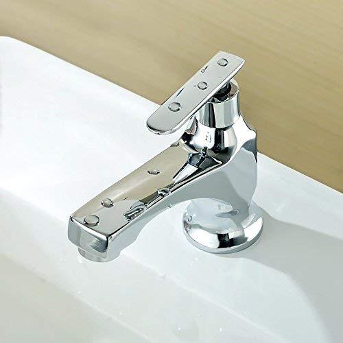 D) Oudan Basin Mixer Tap Bathroom Sink Faucet All copper single cold basin faucet E (color   A)