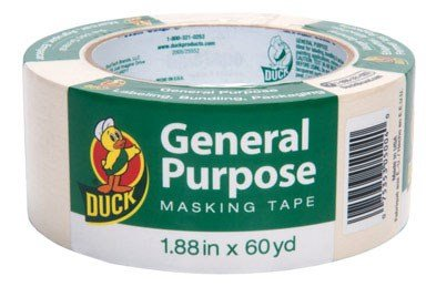Masking Tape Duck - MASKING TAPE1.88X60YD GP by DUCK MfrPartNo 240352