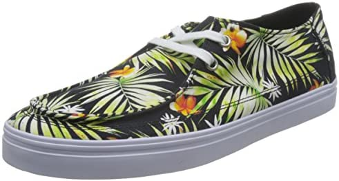 75d2e208032 Vans Men s Rata Vulc Sf (Decay Palm) Black Sneakers - 10 UK India ...