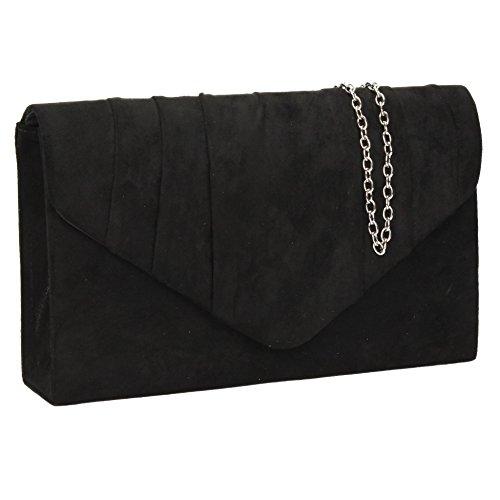 Envelope Women's Bag Suede Clutch Prom Iggy Black Swankyswans Party Velvet nIpTCqB