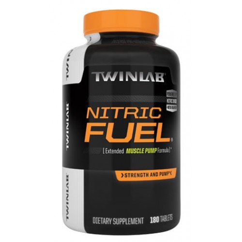 TWINLAB NITRIC FUEL, 180 TAB (Tabs Fuel 180)