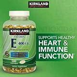 Kirkland Signature™ Vitamin E 400 Iu, 500 Softgels