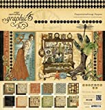 Graphic 45 Olde Curiosity Shoppe 12 by 12-Inch Paper Pads