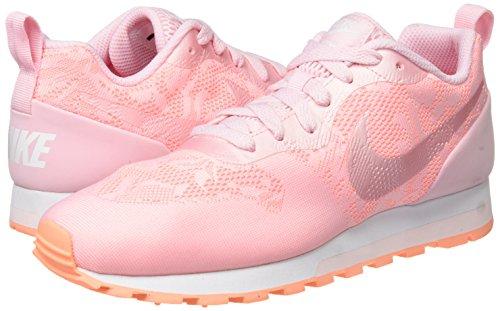 Shape Sujetador Mayo Deportivo Mujer Nike 600 Para Multicolor Swoosh Coral 5Eqt6w6z