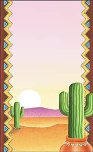"Menú Papel-Southwest temáticas de diseño de cactus,-100/Pack 81/2""x 11"" por mesa King"