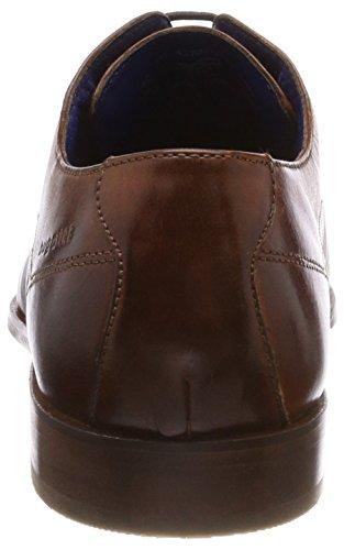 para Bugatti Cordones Hombre 311457021100 Marrón de Derby Cognac Zapatos rUWX7BU