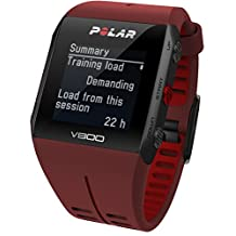 POLAR V800 RED HR STAINLESS STEEL ALUMINIUM