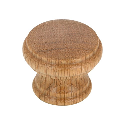 Richelieu Wood Knobs - Richelieu Hardware - BP05454251 - Eclectic Wood Knob - 545 - Oak, Natural Finish
