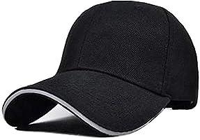 キャップ メンズ【2020最新版】 無地 シンプル フリーサイズ 野球帽 日よけ 紫外線対策 カジュアル ランニング 登山 釣り ゴルフ 運転 アウトドア 調節可能 男女兼用 (black)