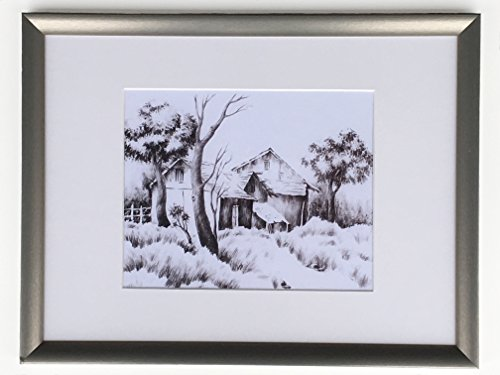Home, Scene, painting, Sketch, Wall Decor, Fine art on paper, Kitchen, Living Room, Nature, Gift for her, Rustic Landscape, Home, Scene, painting, Sketch, Wall Decor, Fine art on paper by Bright Sketches Studio