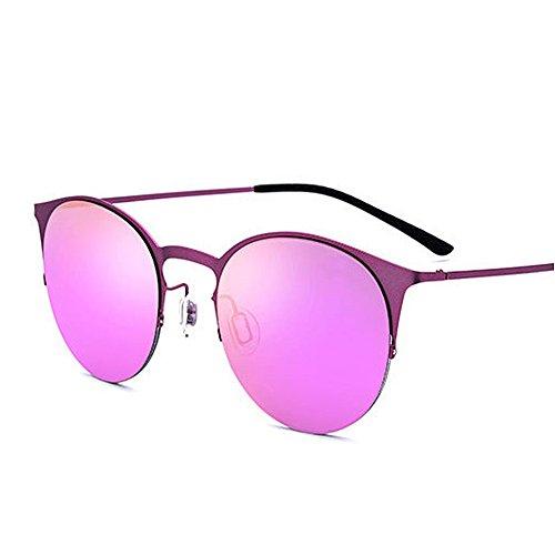 Gato Tonos de Sol Ultravioleta los Sol Marco Ligeras Gafas al Las de protección Moda de Las de del de para de Púrpura Gafas de la conducción Mujeres Ojos Gafas Prote de la Playa de la Sol Aire de Libre TR90 vqIwrvt