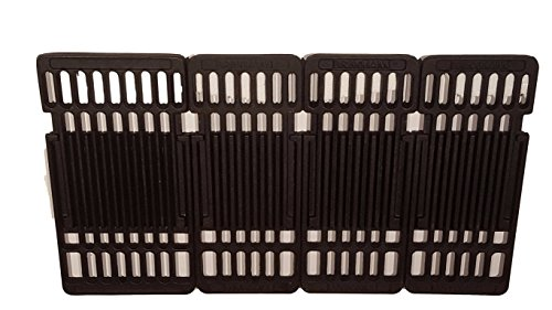 Brinkmann Charcoal Grill (Set of Three 6.25 inch and one 8 inch Cast Iron Cooking Grid Replacement for Kingsford and Blackstone Charcoal Grill models)