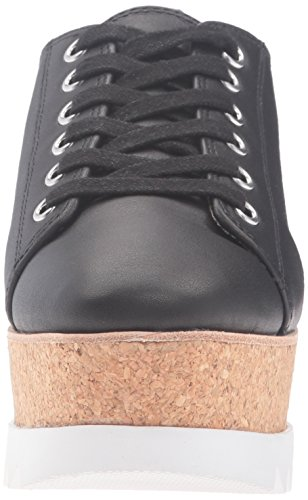 Steve Madden Vrouwen Korrie Fashion Sneaker Zwart Leer