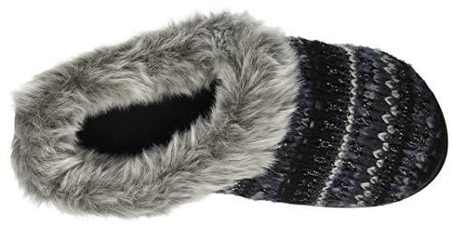 Knit Black Women's Clog Dearfoams Slipper UaYBWxq