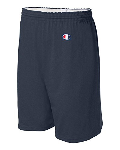 Champion Men's  6-Inch Navy   Cotton Jersey Shorts - Small
