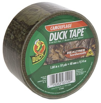 (Duck Duct Tape Realtree Hardwoods High Performance 10 Yd. Camouflage by Shurtech Brands)