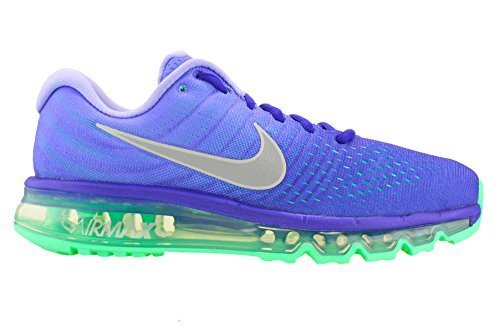 Nike Air Max 2017 Womens Running Sneaker Concord/White/Persian Violet (9)