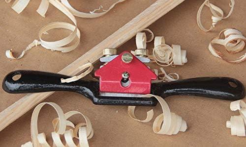 LAQI Spoke Shave Spokeshave con Borde de Corte Ajustable a15110500ux0396 Herramienta de carpinter/ía de 44 mm de Ancho de Corte para tallador de Madera