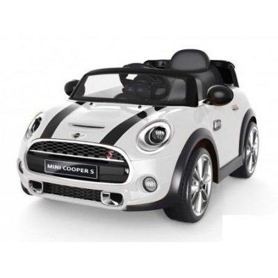 Schemi Elettrici Automobili Gratis : Auto elettrica 12v per bambini mini cooper colore bianco con